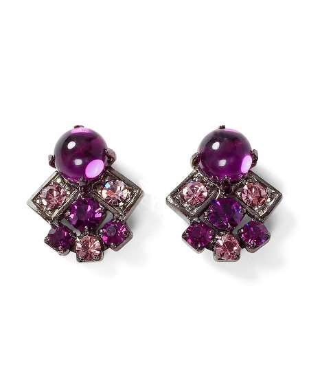 Imperial Purple Earring
