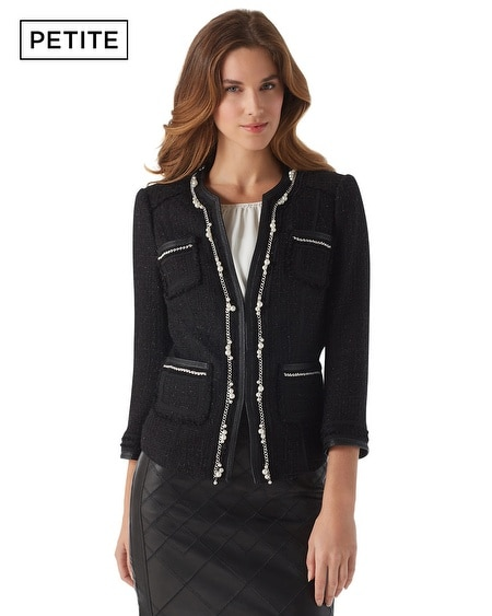 Petite Embellished Trophy Jacket