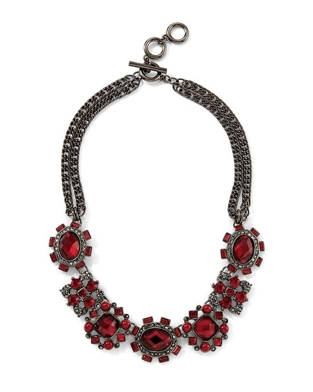 Cardinal Hematite Necklace
