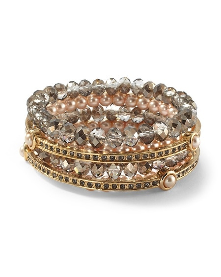 Stretch Bracelet/Bangle Set