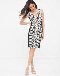 Instantly Slimming Ruched Floral Dress