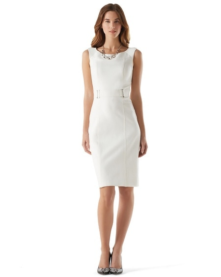 Boatneck Sheath Dress