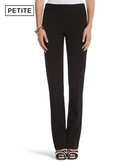 Petite Seasonless Straight Leg Pant