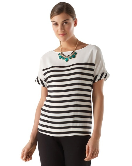 Movie Reel Stripe Tee