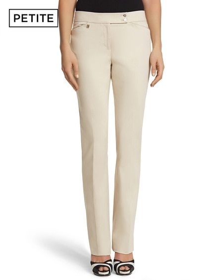 Petite Luxe Sateen Bootcut Pant