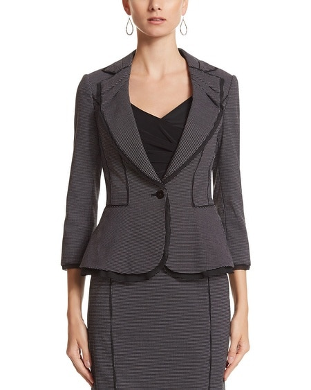 Flirty Dot Suit Jacket