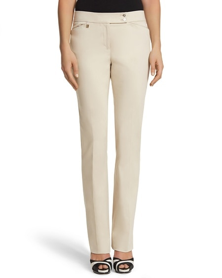Luxe Sateen Bootcut Pant