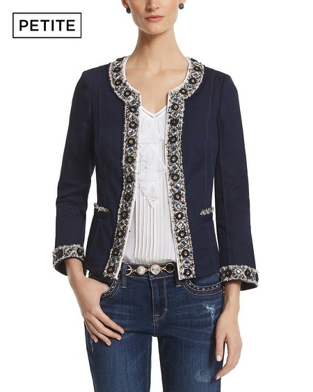 Petite Beaded Trophy Jacket