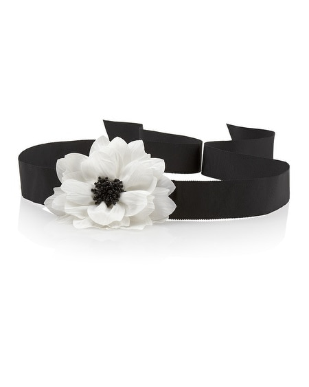 High Contrast Flower Sash
