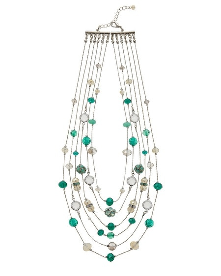 Julep Multi Row Necklace