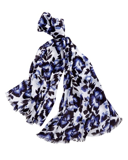 Charming Floral Scarf