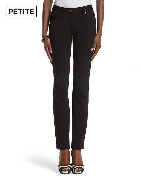 Petite Slim Ankle Stretch Twill Pants