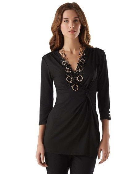Surplice Knot Tunic