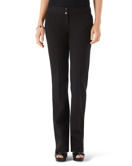 Curvy Seasonless Sleek Bootcut Pant