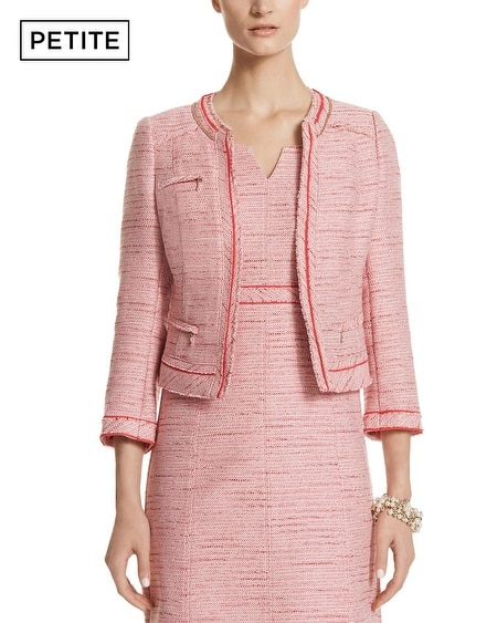 Petite Tweed Jacket