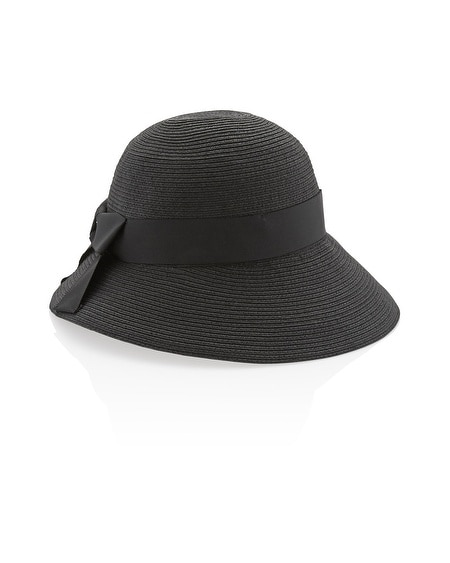 Wide Brim Cloche Hat
