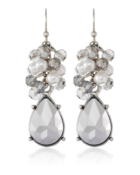 Teardrop Bauble Earring