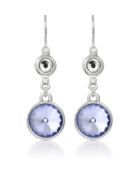 Blue Drop Earring