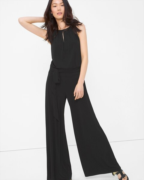 225b3f9050f7 Return to thumbnail image selection Wide Leg Keyhole Jumpsuit video preview  image
