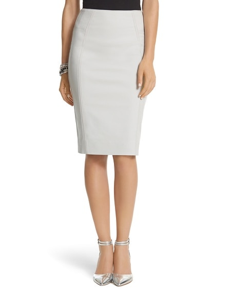 Grosgrain Pencil Skirt