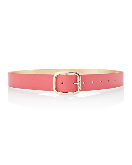Coral Gold Reversible Belt