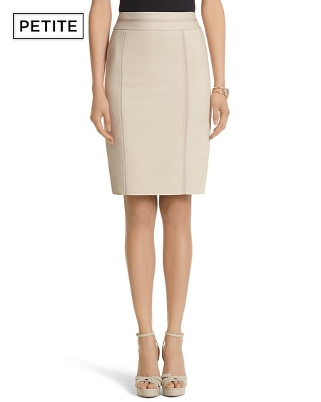 Petite Perfect Form Stitch Pencil Skirt
