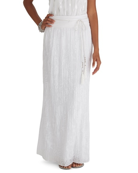 Burnout Maxi Skirt