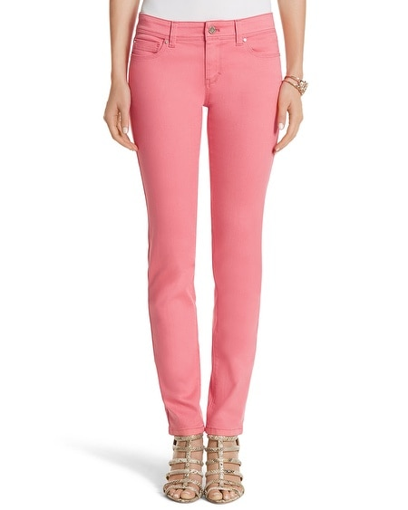 Curvy Colored Slim Ankle Jean