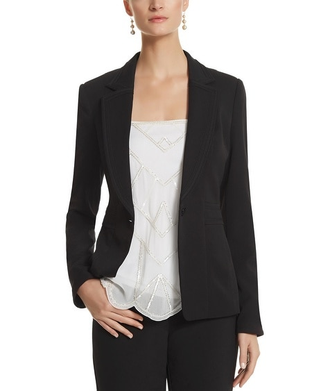 Seasonless Fashion Notch Collar Blazer