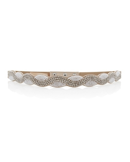 Pearl & Crystal Stretch Belt