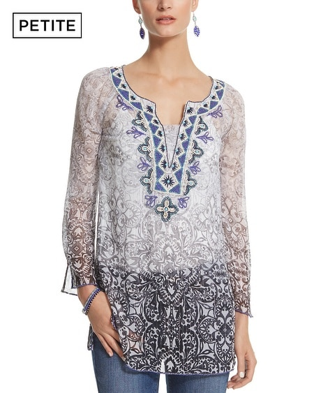 Petite Ombre Embellished Tunic