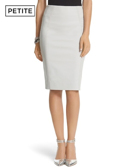 Petite Perfect Form Grosgrain Pencil Skirt