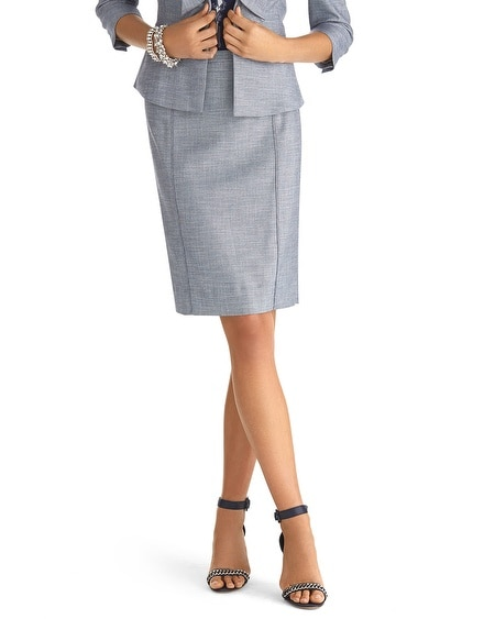 Suit Pencil Skirt