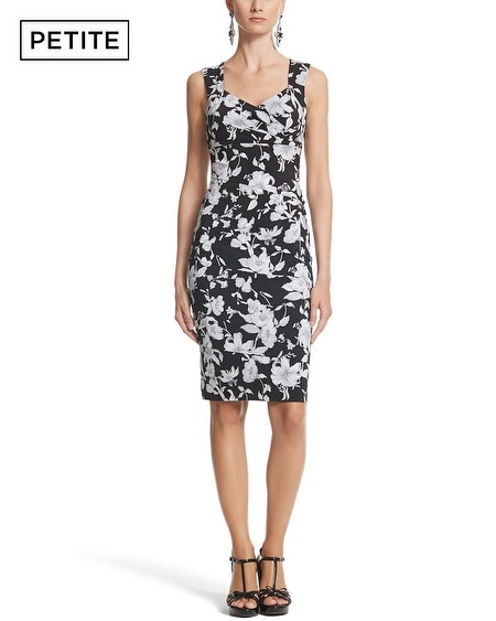 Petite Instantly Slimming Floral Tank Dress