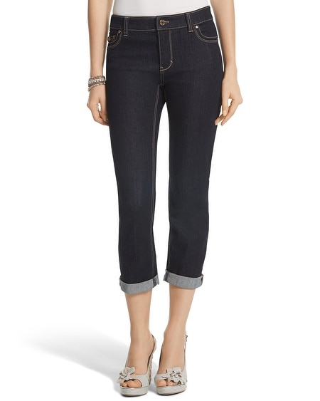Essential Crop Dark Jean