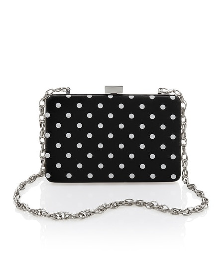 Polka Dot Box Bag