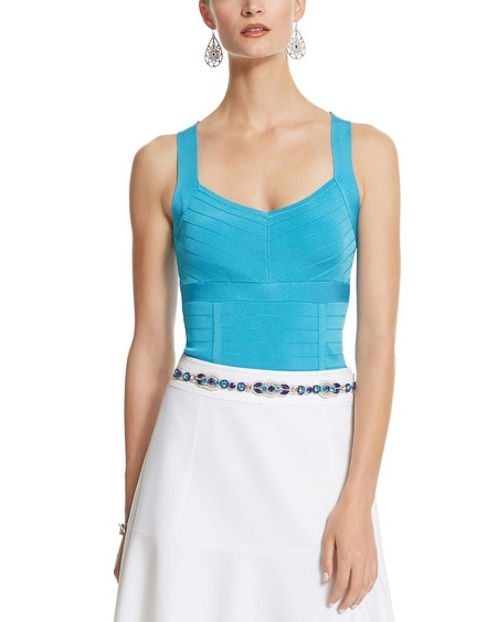 Sleeveless Bandage Tank