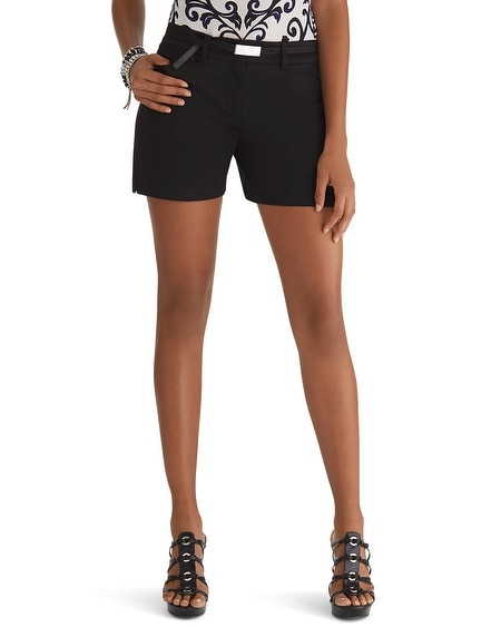 Sateen Shorts Black