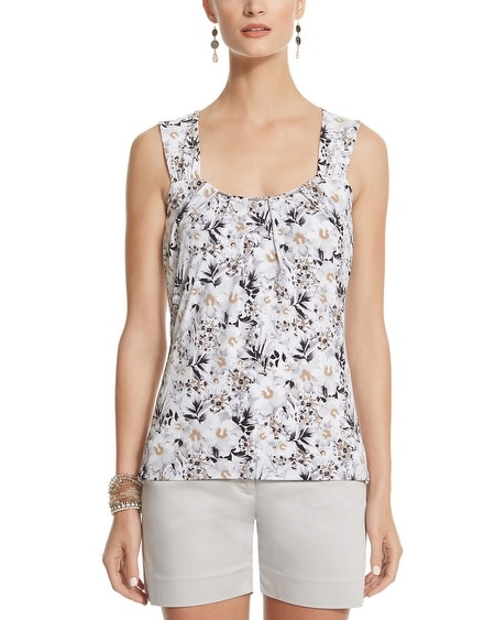 Printed Chain Cami