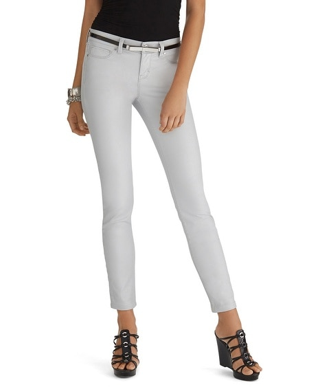 Curvy Coated Skinny Jean
