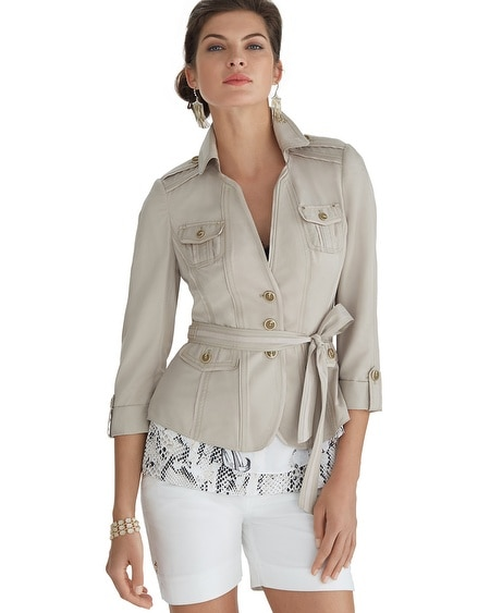 Belted Casual Jacket