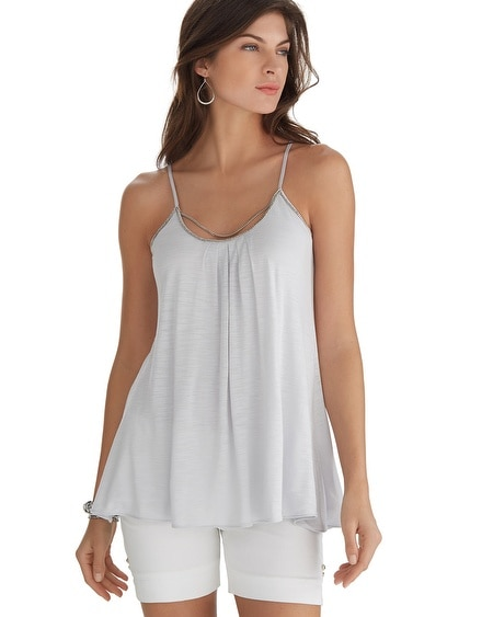 Gray Chain Cami