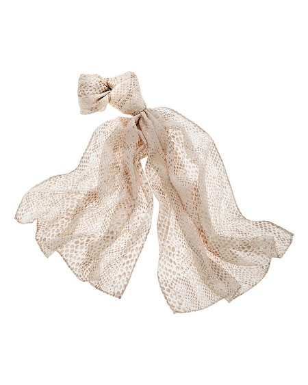 Burnout Oblong Scarf