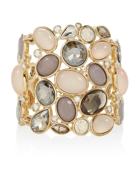 Neutral Cuff Toggle Bracelet