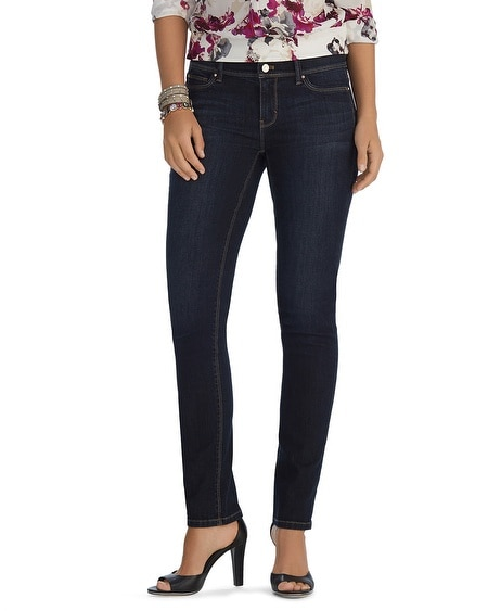 Curvy Essential Slim Full Length Jeans