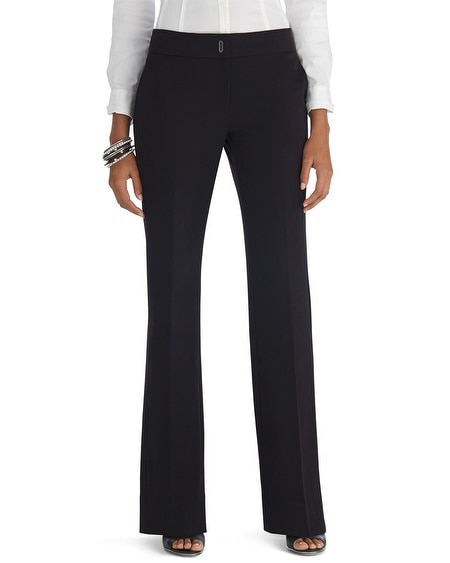 Seasonless Bootcut Black Pants