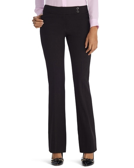 Seasonless Straight Leg Black Pants