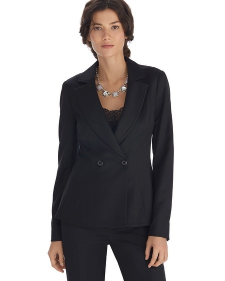 Luxe Suiting Black Jacket