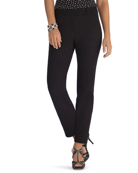 Ultra Stretch Curvy Slim Ankle Black Pants