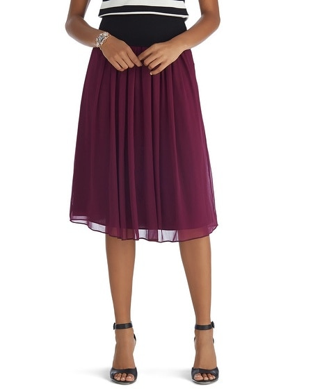 Soft Pleated Skirt